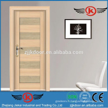 JK-SW9301-2 nouveau modèle de portes intérieures de fantaisie pivotantes pour maison