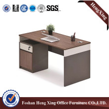 Warm Colour Fashion Design with Bookcase Computer Table (HX-6M114)