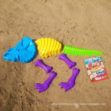 7PCS Dinosaur Bone Shape Beach Tool to Play Sand Toy Set