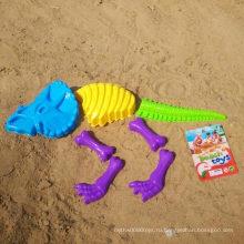 7PCS инструмент кости кости кости динозавра для того чтобы сыграть комплект игрушки песочного