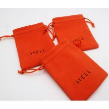 daim pour pochettes à bijoux sac-cadeau de promotion
