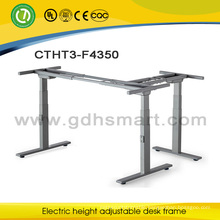 Electric height adjustable office desk office computer table metal frame office desk design