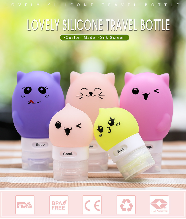 Travel Makeup Bottles