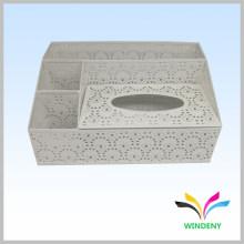 Канцелярские товары белого металла с порошковым покрытием многофункциональный держатель туалетной бумаги коробка