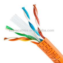 ORANGE NUEVO CAT6 1000FT UTP SOLID NETWORK ETHERNET CABLE ALAMBRE ALAMBRE RJ45 Cat6 Lan Cable