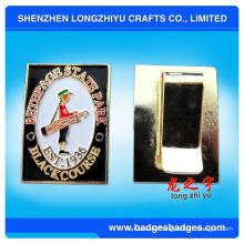 Geld-Klipps mit kundengebundenem Logo, Metallgeldclip, Geld-Klipp (LZY081)