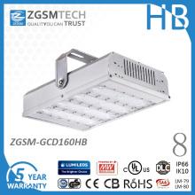 160W 347V 480V impermeável e à prova de choque LED alta Bay luz