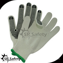 SRSAFETY rubber dotted gloves