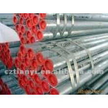 Galvanized corrugated seamless steel pipe