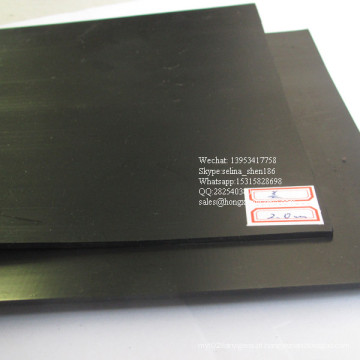 Forro impermeável liso de Geomembrane do HDPE de 1.0mm para o forro do lago