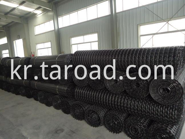 PP Biaxial geogrid for road