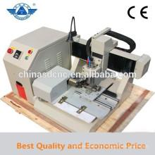 Venta caliente 4 ejes JK-3040 CNC Fresadora tallando Artware, Metal, madera, escritorio Mini máquina de grabado