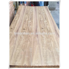 linyi supply 3mm 4mm Burma natural teak veneer plywood for furniture
