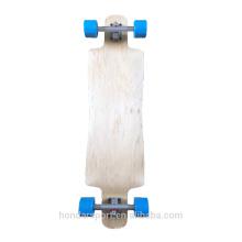 Longboard complets en blanc rigide de haute qualité pour freeride et descente