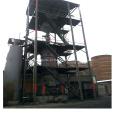 Gaseificador de carvão de dois estágios para o posto de gasolina frio