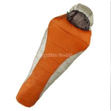 Wholesale Cotton Orange Sleeping Bag, Adult Mummy Sleeping Bag