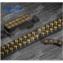 SMD SMT Target Female Connector (couplage avec le connecteur pogo)