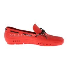 Red Colour Style Dress Leather Boat Shoes