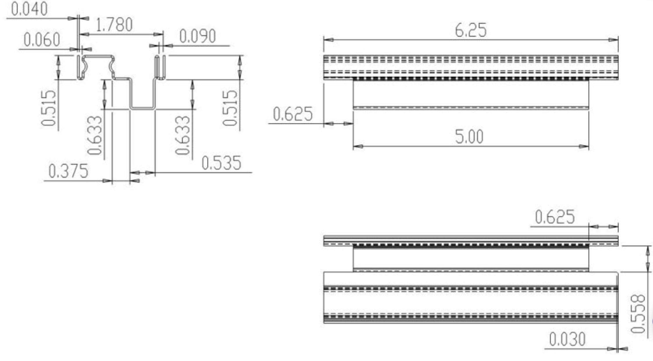Window Frame Profile Drawings (2)