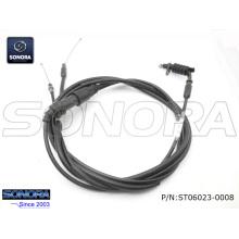 BAOTIAN BT49QT-20cA4 (5E) Conjunto del cable del acelerador (P / N: ST06023-0008) Calidad original
