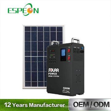 Etl outre du système d'installation facile de grille le support seul le générateur solaire 5Kw