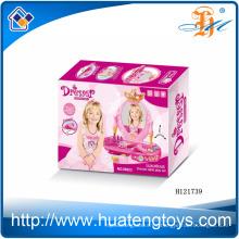 2014 Los niños plásticos al por mayor juegan el aparador del juguete, los juguetes del aparador de la belleza de la muchacha H121739
