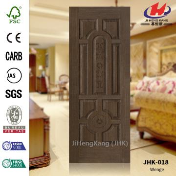 3.2MM 10 Panel Wenge Veneer Door Skin