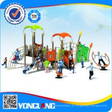 Equipamentos de recreio para crianças ao ar livre