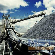 Correia transportadora de transporte de cimento