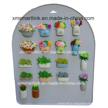 Sculpteur Fleur Fridgerator Magnets