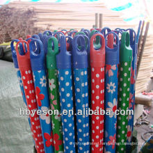dot/spot pvc cover wood broom handle 2.2*120cm