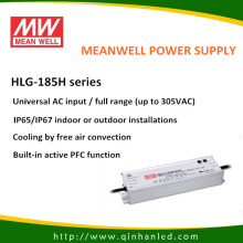 IP65 185W LED Power Suppy Driver (HLG Meanwell - 185H)