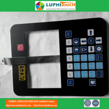 Air Vibration Analyzer Al Backer Membrane Keypad