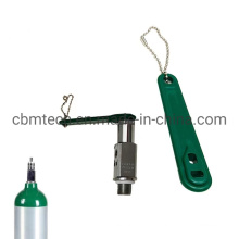 Colorful Durable Plastic Oxygen Cylinder Wrench