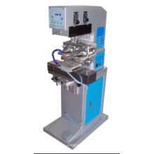 Shuttle Station / 60mm Ink Cup / PLC Máquina de impresión de dos colores del cojín