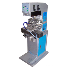 Shuttle Station / 60mm Enk Cup / PLC Two Color Pad Printing Machine