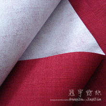 Fr Polyester Linen Sofa Fabric Coated Linen Home Textile Fabric