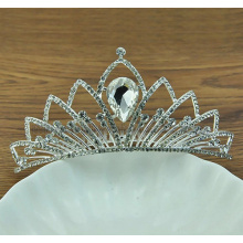 2014 New Style Bride Beauty Zinc Alloy Charm Gemstone Crown