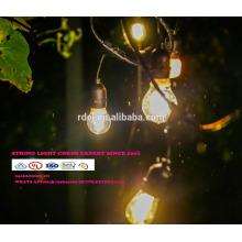 cuerdas de iluminación impermeable al aire libre de vacaciones E14 E27 48FT SLT-19912