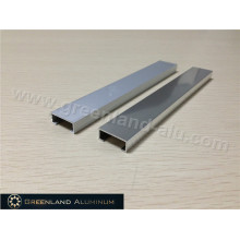 Perfil de aluminio plateado Listello Trim