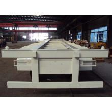 3 Achse 45 Fuß Skeleton LKW-Anhänger