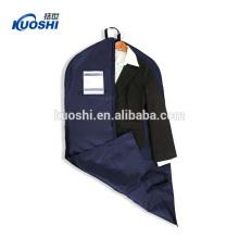 Sacos de vestuário com bolso para vestidos de noiva por atacado