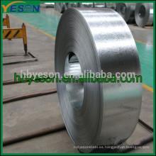 Galvanizado Tiras de acero, Galvanizado de acero, Hot Dip Galvanizado de acero