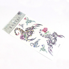 Factory Supply Competitive Price Non-Toxic Ink Tattoo Sticker Temporary