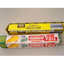 papel de aluminio para wraping alimentos