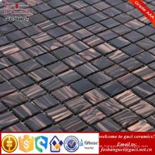 China-Versorgungsmaterial Schmelzgoldfaden-Mosaikfliese