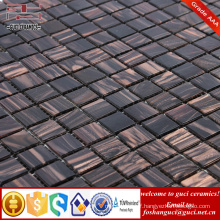 China supply Hot melt gold thread mosaic tile