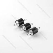 Amortiguador de vibraciones de goma M5 * 15 D15H10, amortiguador de goma