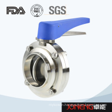 Stainless Steel Sanitary Plastic Handle Butterfly Valve(Jn-BV10010