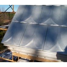 Sistema de telhado de telha metálica